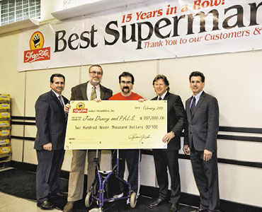 New ShopRite Store Opens with a Gift - Community FoodBank of New ...