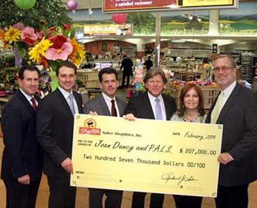 ShopRite Gives $207G to ALS Charity